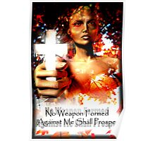 No Weapon Formed Poster