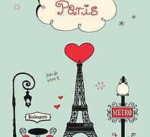 Paris!  by Decoravie