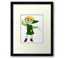 Wind Waker Link Framed Print