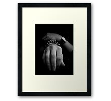 Rochelle's hands by Ricky Framed Print
