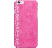 lip balm pink with hearts iPhone Case/Skin