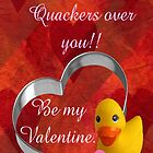 Duck Valentine by CardLady