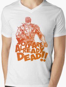 Kenshiro Mens V-Neck T-Shirt