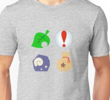 Animal Crossing Icons Unisex T-Shirt