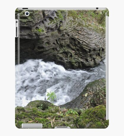 Behind the Waterfall of Love iPad Case/Skin