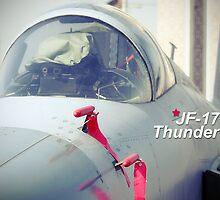 J F17 Thunder by Sheraz Khan