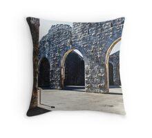 Trial Bay Gaol Throw Pillow