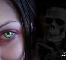 Ever feel deaths breath over your shoulder... by dimarie