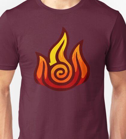 Firebending Symbol Unisex T-Shirt