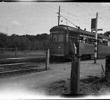Adelaide - Glenelg Tram C-1950 by JimFilmer