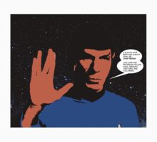 Mr. Spock Kids Clothes
