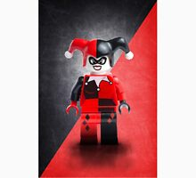 Lego Harley Quinn - Custom Artwork & Photography Unisex T-Shirt