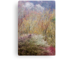 Spring Landscape Art Canvas Print
