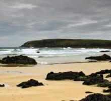 Lewis: Rocky Beach Sticker