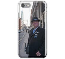 Westminster Information gentleman iPhone Case/Skin