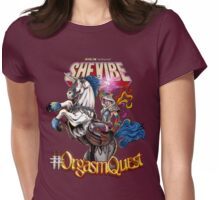 SheVibe Presents Orgasm Quest With Crista Anne Womens Fitted T-Shirt