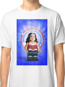 Lego Wonder Woman - Custom Artwork & Photography Classic T-Shirt
