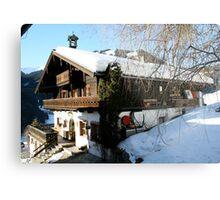 Alet cozy house-Austria -Salzburger Land Metal Print