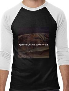 Chicken N Waffles Men's Baseball ¾ T-Shirt