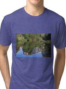 Fisherman On The Riverbank Tri-blend T-Shirt