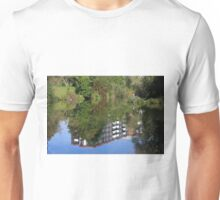 Fisherman On The Riverbank Unisex T-Shirt
