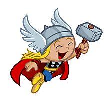Funny Thor Photographic Print