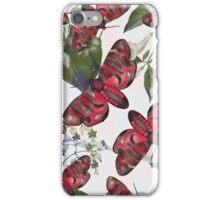 moth and botany iPhone Case/Skin