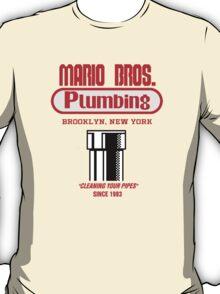 Mario Bros. Plumbing T-Shirt