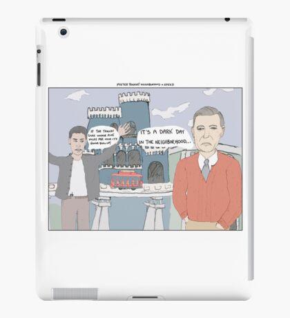 Mister Rogers' Neighborhood + Speed iPad Case/Skin