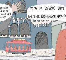 Mister Rogers' Neighborhood + Speed Sticker
