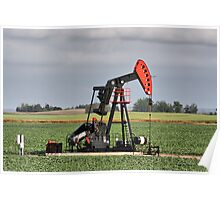 Oil Well Poster