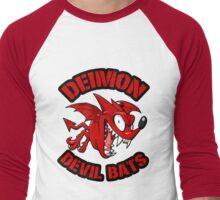 Deimon Devil Bats - Eyeshield 21 Men's Baseball ¾ T-Shirt