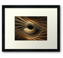 'The Story In Your Eyes' Framed Print