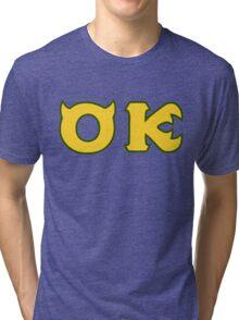 Monsters U: Oozma Kappa Tri-blend T-Shirt