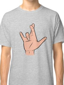 I Really Love You in ASL: I Classic T-Shirt