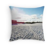 Outside the School Throw Pillow