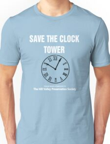 Save the Clock Tower (Back to the Future Print) Unisex T-Shirt