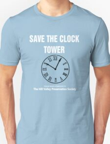 Save the Clock Tower (Back to the Future Print) T-Shirt