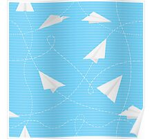 Paper Airplanes Poster