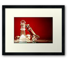 Sleeping with the enemy Framed Print