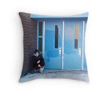Lonely-A Self Portrait Throw Pillow