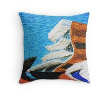 Fear and Loathing in Broadbeach Throw Pillow