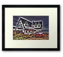Saltcotes Gothic Framed Print