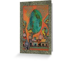 Mughal Skyline - The Qalam Series Greeting Card