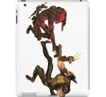 Deadpool vs Wolverine iPad Case/Skin