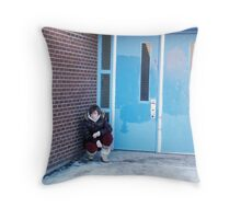 Lonely-A Second Self Portrait Throw Pillow