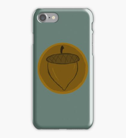 The Hobbit- Bronze Acorn Button iPhone Case/Skin