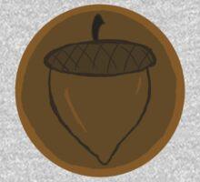 The Hobbit- Bronze Acorn Button Kids Clothes