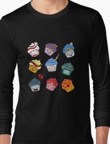 Adventurous Cupcakes Long Sleeve T-Shirt