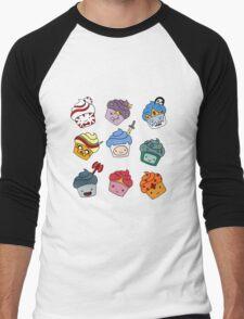Adventurous Cupcakes Men's Baseball ¾ T-Shirt